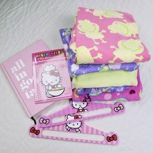 Steve, Carter Bundle of 5 Pajamas items girls 6x-8